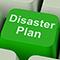disaster plan key