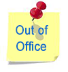 our of office